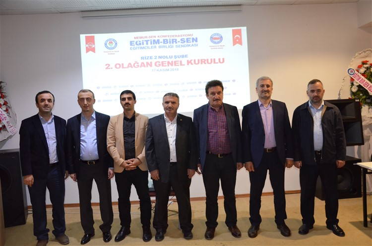 Türkiye'nin her özgürlükçü kazanımında Eğitim-Bir-Sen'in teri, yeri ve emeği vardır
